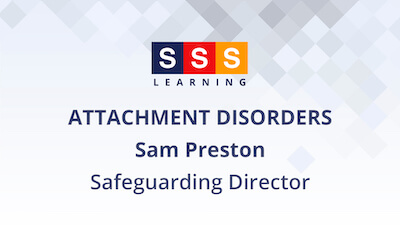 Sam Preston talks about children's mental health & wellbeing in relation to attachment disorders